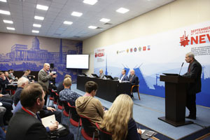 NEVA 2019. Roundtable discussion - Composite and additive materials in shipbuilding